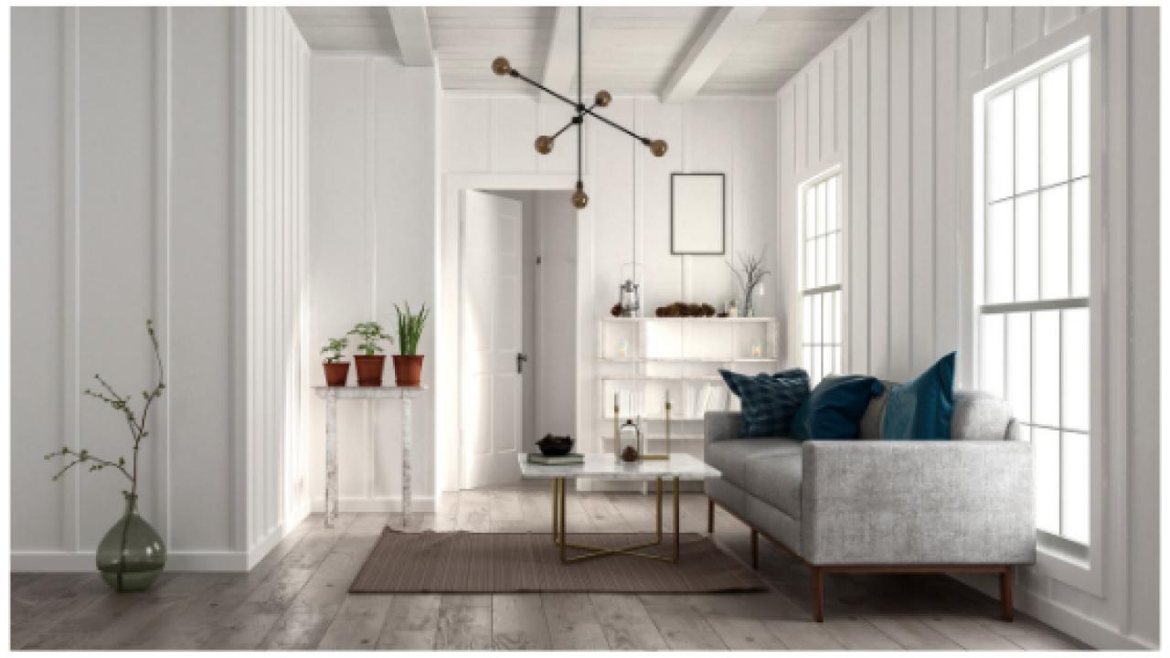Arredamento Pavimento Scuro i colori delle pareti per stanze con pavimenti in legno