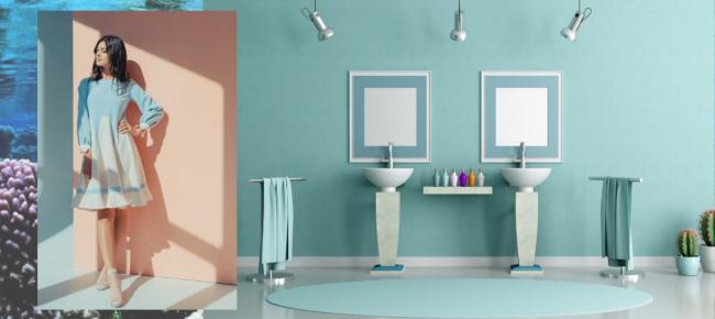 Colori Alle Pareti Foto.Colore Moda 2019 Il Verde Acqua Alle Pareti Fashionchannel