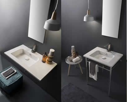 Fashionchannel scarabeo ceramiche presenta etra e teorema i bagni